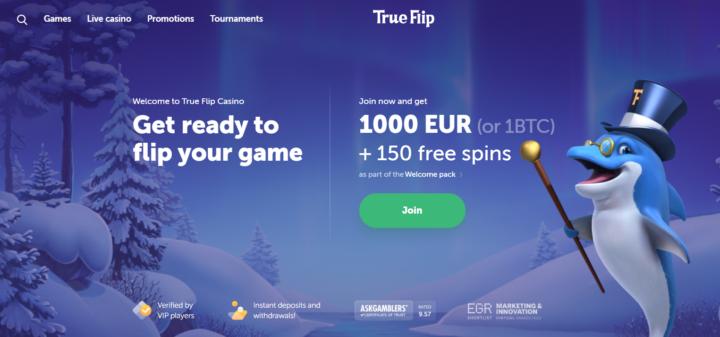 TrueFlip BTC Casino